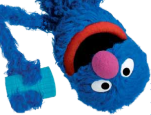 Cookie Monster is help children cope