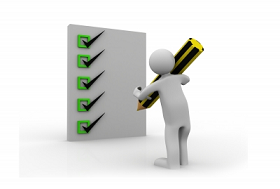 Commisary Checklist